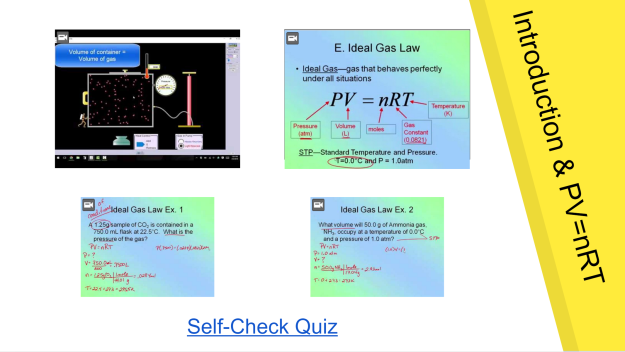 Gas Laws Slide screenshot