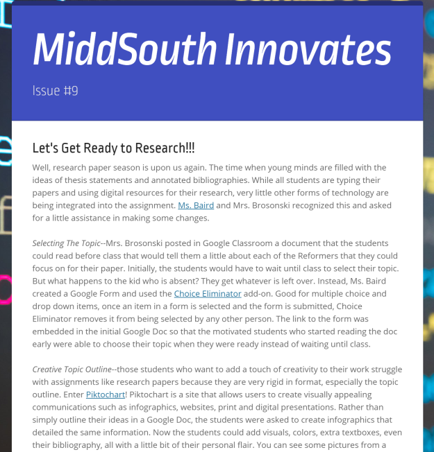 MiddSouth Innovates 9