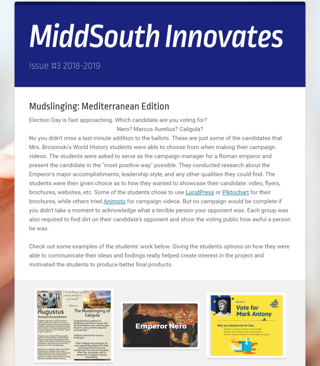 MiddSouth Innovates 3