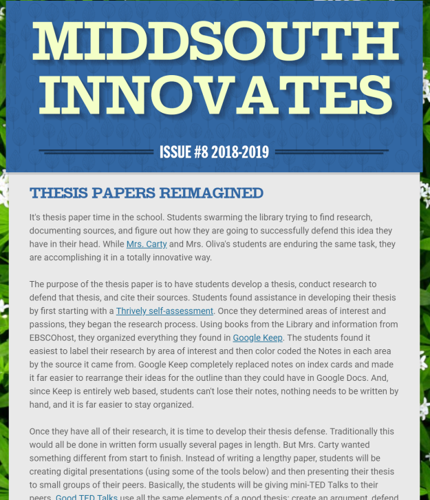 MiddSouth Innovates 8